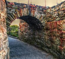 Old Stone Arch on the Cliff Walk, Newport, Rhode Island by Jane Neill-Hancock