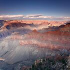 Sunset at Pipe Creek Vista, Grand Canyon South Rim by Martin Lawrence