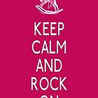Keep Calm and Rock On IPhone/Ipod case by LittleMermaid87