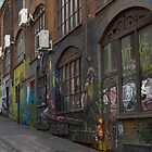 ACDC Lane - Melbourne CBD by Colin  Ewington