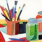 Artist's Still life  by Karin Zeller