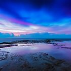 Reflections of Pink &amp; Blue by Mark  Lucey