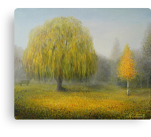 Sleepy Morning Canvas Print