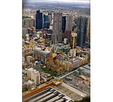 Melbourne The City of All Photographic Print