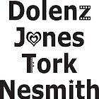 Dolenz, Jones, Tork, Nesmith: The Monkees by Suzanne  Gee