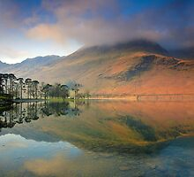 The Sentinels, Buttermere by Martin Lawrence