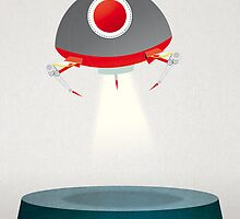 UFO - Monster Collection by David Wildish