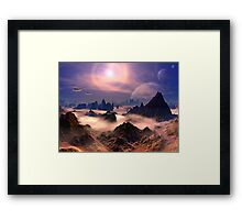 In Search of Life Framed Print