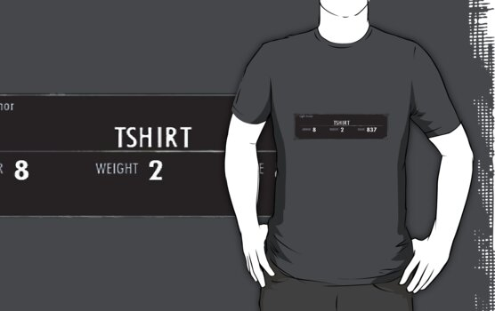 Skyrim T-Shirt by STricker