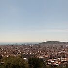 Barcelona skyline by Antonio Paliotta