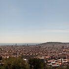Barcelona skyline by Antonio Paliotta