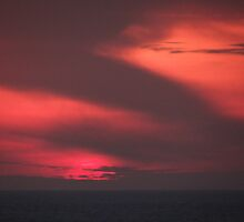 Red Sunset - Rojo Atardecer by PtoVallartaMex