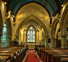 St Mary's Church, Frittenden - interior by Dave Godden