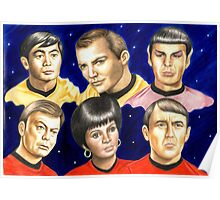To boldly go......Star Trek.....the originals Poster
