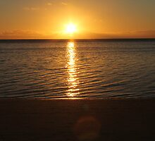 A Perfect Sunset In Fiji. by MissKat77