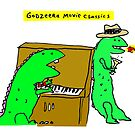Movie Classics of Large Lizard  by Ollie Brock