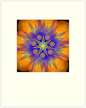 Mandala Starbright by shoffman