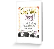 GET WELL Vultures!  Greeting Card