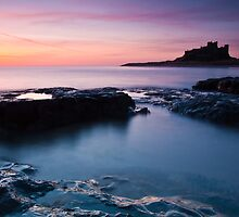 Bamburgh Castle Sunrise, Northumberland, United Kingdom by Jim Round