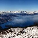 Loch Katrine from Beinn A&#x27;an, The Trossachs, Scotland by Jim Round