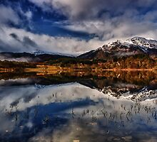 Ben Venue from Loch Achray,The Trossachs, Scotland by Jim Round