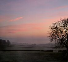 Misty,Dawn, Yorkshire by Jim Round