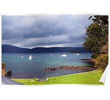 Beautiful Tasmania - Port Arthur's harbour Poster