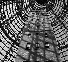 Shot tower, Melbourne  by Maggie Hegarty