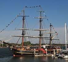 HMS Bounty - St Augustine by Kate Adams
