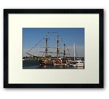 HMS Bounty - St Augustine Framed Print