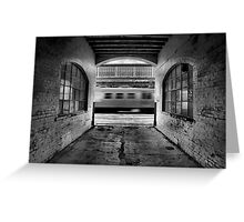 In the tunnel of love... Greeting Card