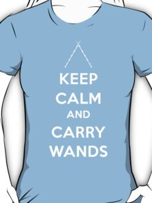 Keep Calm and Carry Wands T-Shirt