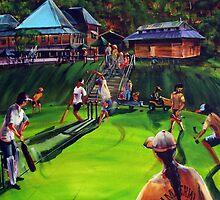 IMPERIAL vs JOE'S Good Friday Cricket Match by tola