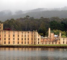 The Penitentiary, Port Arthur by Les Unsworth