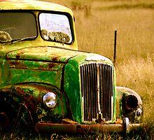 Rusted Work horse by Matt Hill