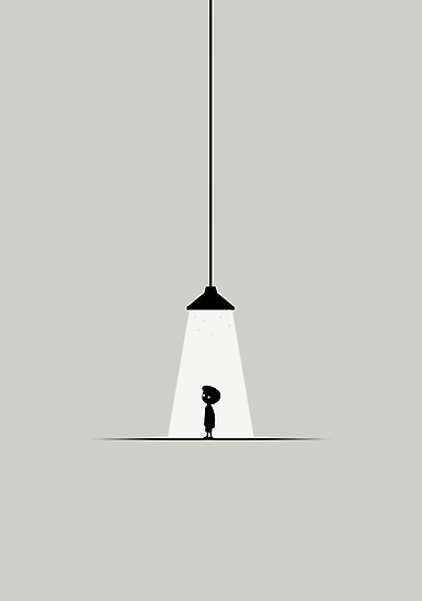 "Limbo #5 ""Light"" by biglime"