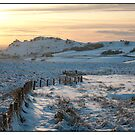 Snowy Sunset by Pamsar