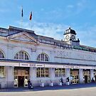 Cardiff Central Railway Station by Paula J James