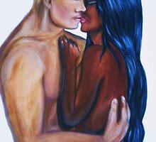 Interracial Lovers  by Yesi Casanova
