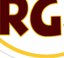 "VICT ""RG3"" Burgundy Sticker"