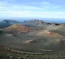 Timanfaya National Park - Lanzarote by Rosie Connor