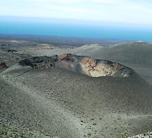 Volcano - Lanzarote by Rosie Connor