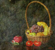 Fruit Basket by Gilberte