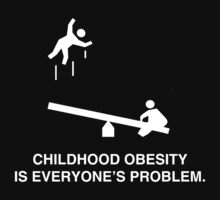 Childhood Obesity Dark by AngryMongo