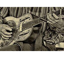 """ The Guitar Man "" Photographic Print"