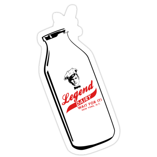 Legend Dairy by Crocktees