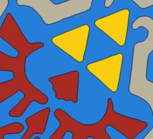 Hylian Shield and Master sword Sticker