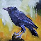 Crow #9 by ralph macdonald
