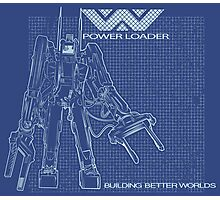Powerloader Blueprint Photographic Print