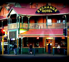 Sunday Morning, Exchange Hotel Kalgoorlie by Virginia  McGowan